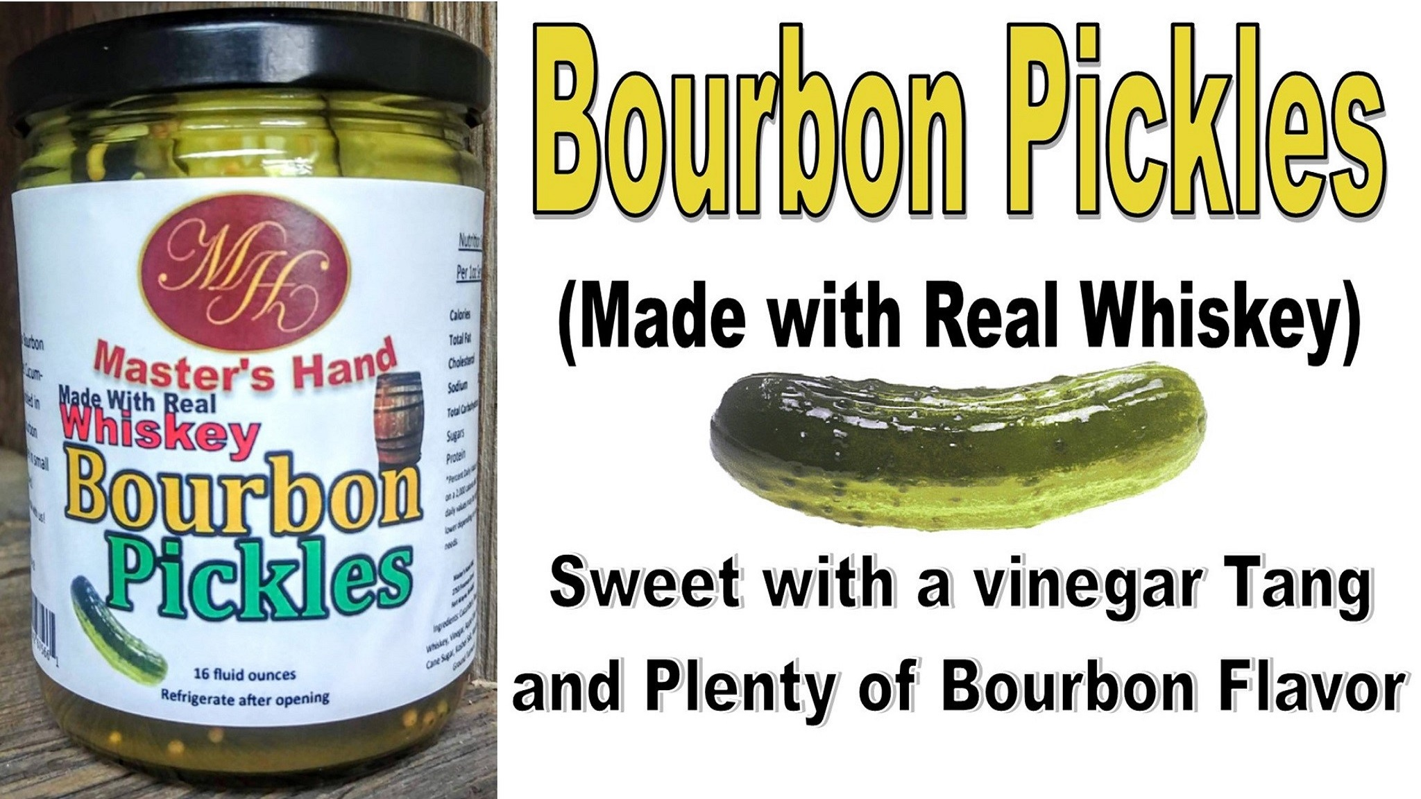 Bourbon Pickles